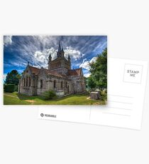 St Mildreds Church IOW Postcards