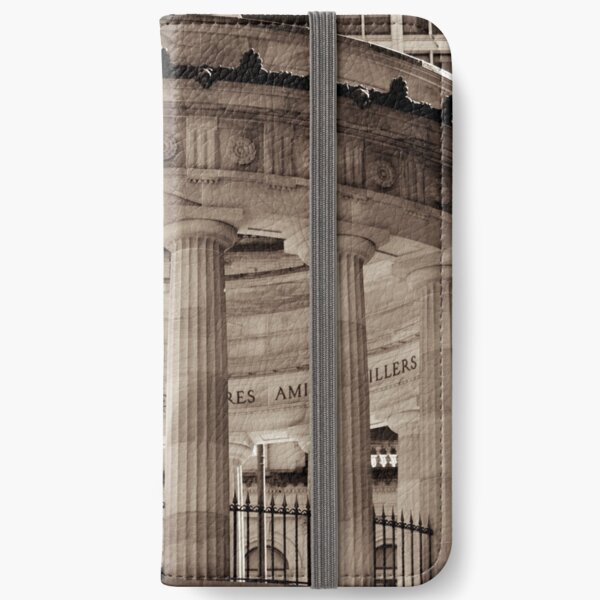 Shrine of Remembrance - Anzac Square, Brisbane iPhone Wallet
