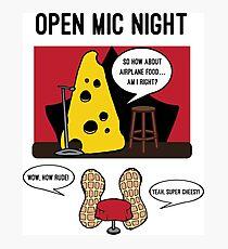 Open Mic Night Photographic Print