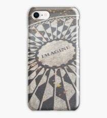 John Lennon Monument iPhone Case/Skin