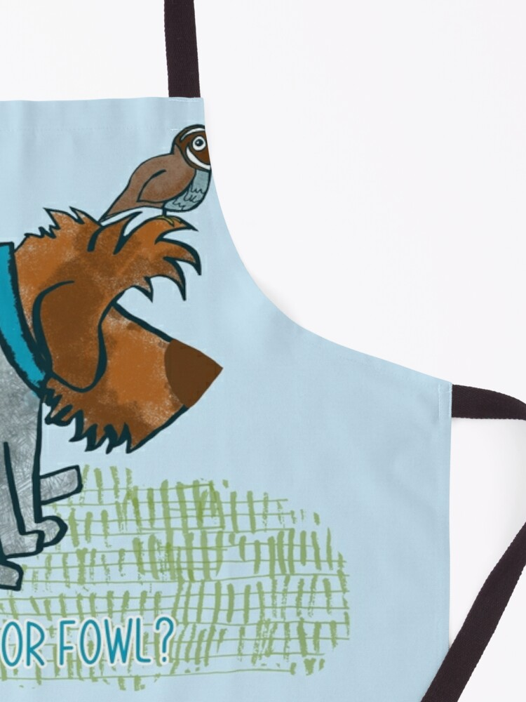 Alternate view of FRIEND OR FOWL? Apron