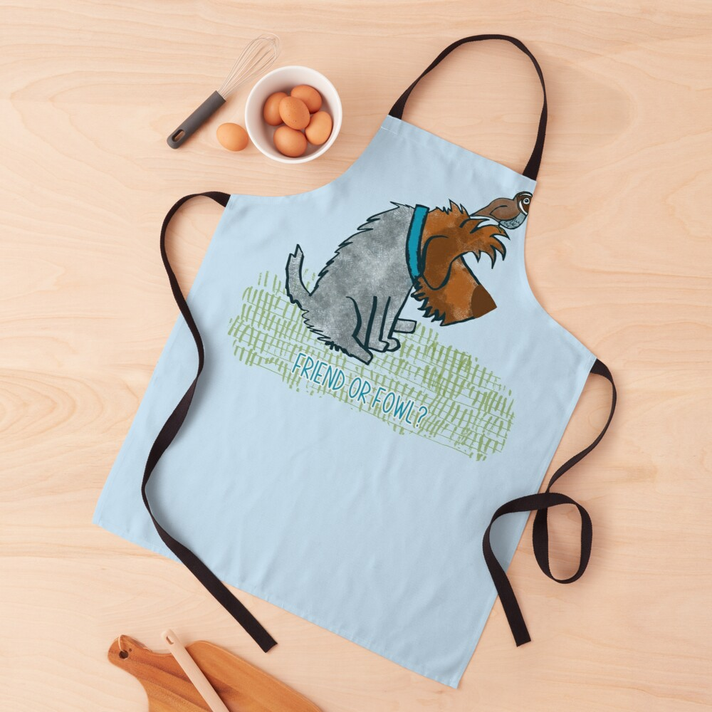 FRIEND OR FOWL? Apron