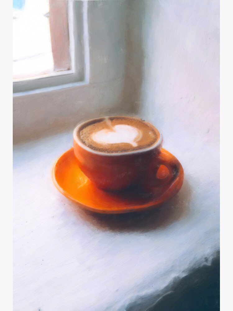 Coffee waking up by the window by StackingStones