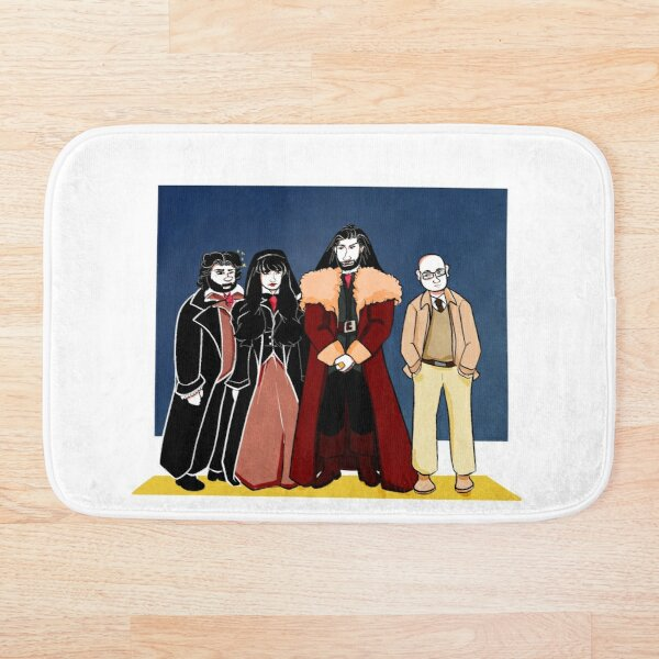 WHAT WE DO IN THE SHADOWS series cast Bath Mat