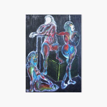 Capricorn Sisters: War, Plague, Earthquake Art Board Print