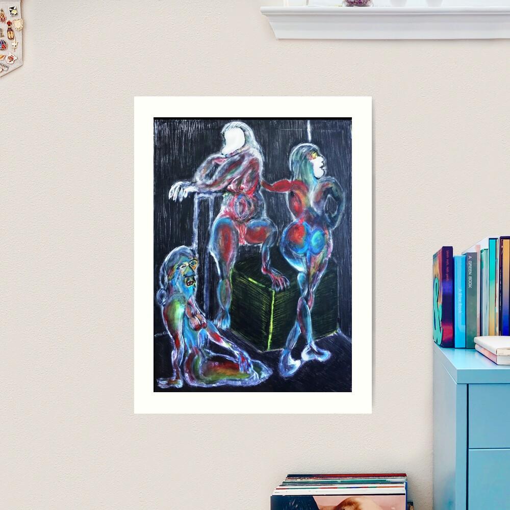 Capricorn Sisters: War, Plague, Earthquake Art Print