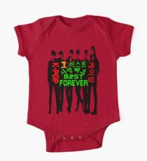 ♥♫I Love B2ST Forever Splendiferous K-Pop Clothes & Stickers♪♥ One Piece - Short Sleeve