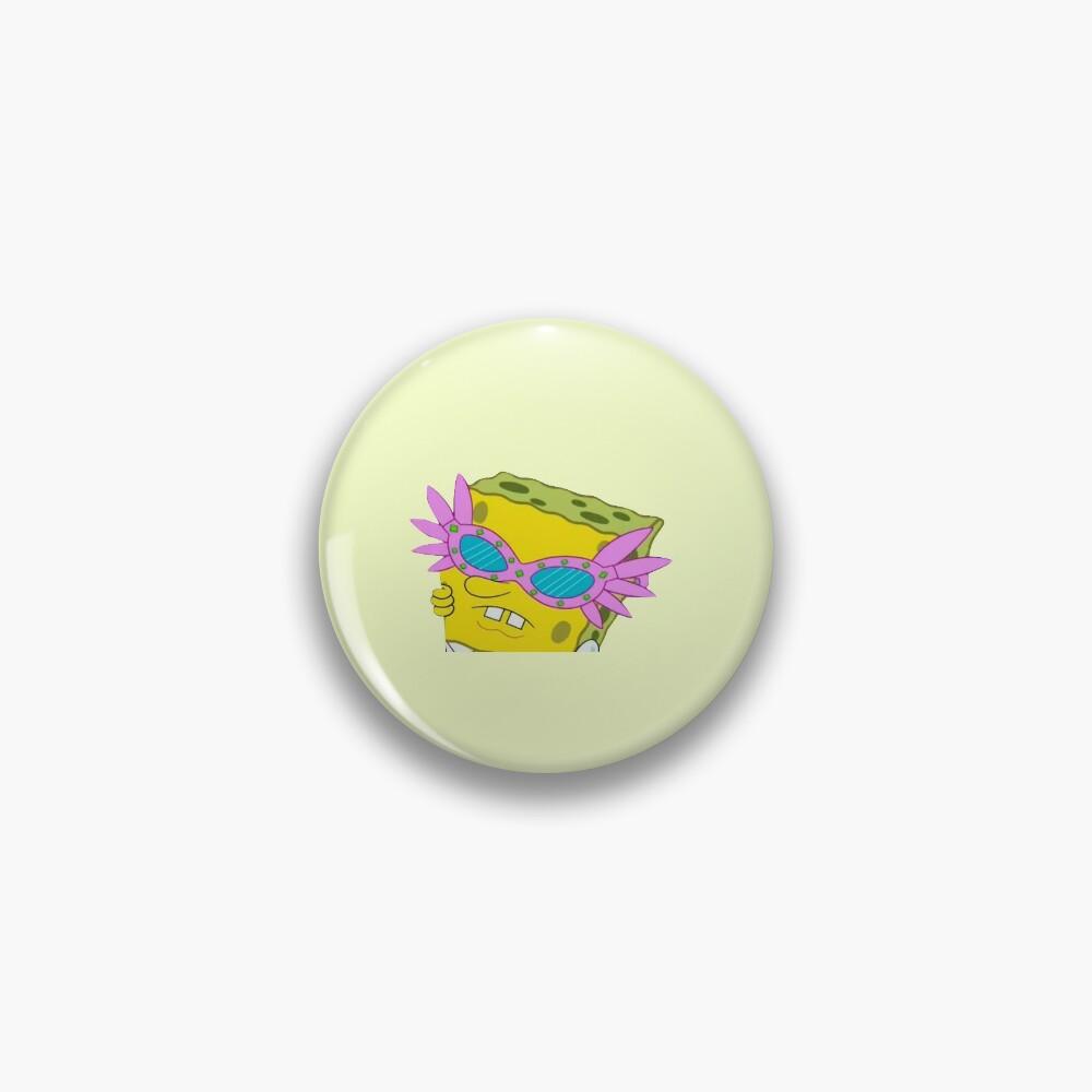 spongebob sticker ~ Pin