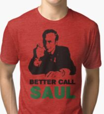 Better Call Saul (Red/Yellow) Tri-blend T-Shirt
