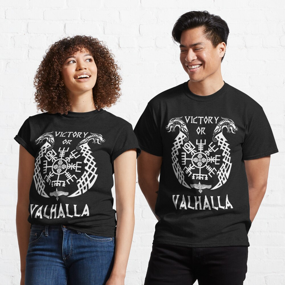 Victory or Valhalla Viking Classic T-Shirt