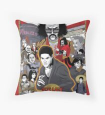 The Last Dragon Glow Movie Poster Throw Pillow
