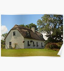 Dunguaire Cottage Poster