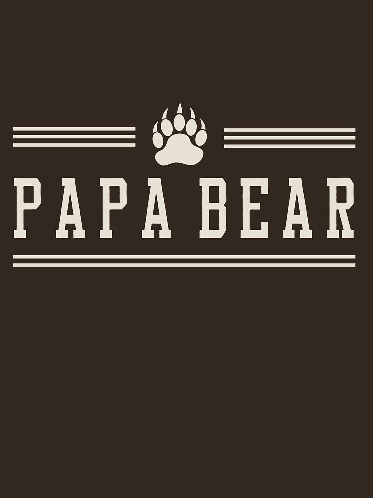 Papa bear | Unisex T-Shirt