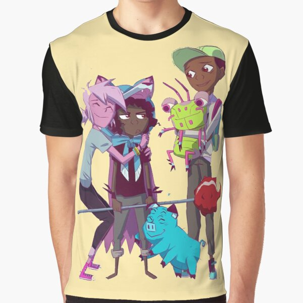 Kipo And Friends Graphic T-Shirt