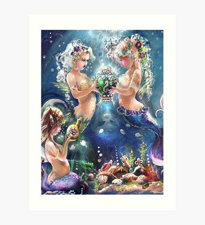 Treasures in the Sea Art Print