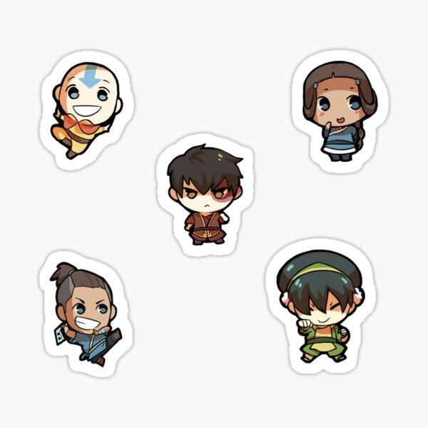 Avatar The Last Airbender Sticker Pack Sticker