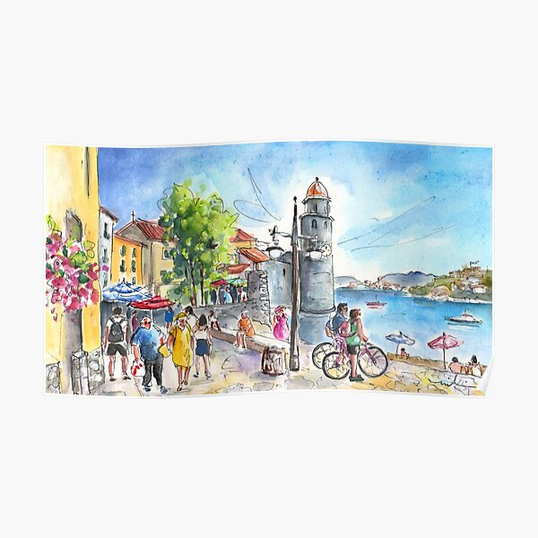 Collioure Town 01 Poster