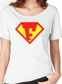 Super Monogram F Women's Relaxed Fit T-Shirt