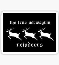Reindeers Sticker