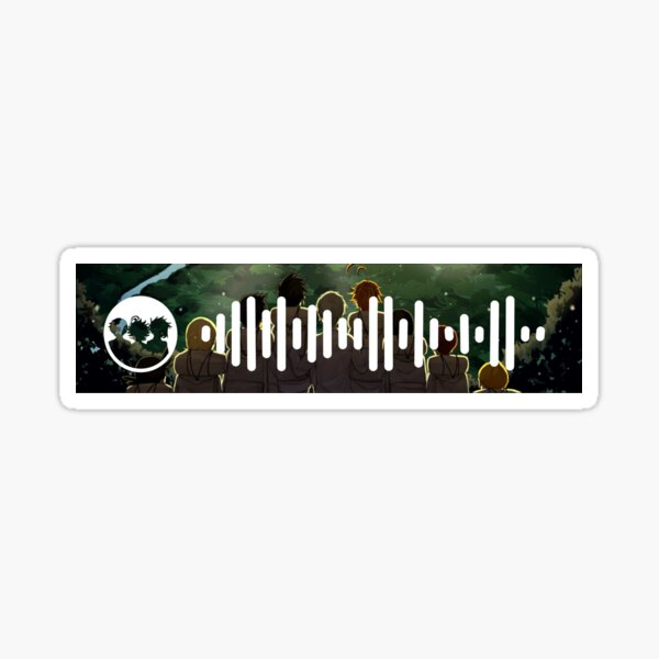 Code Spotify du thème Promised Neverland Sticker