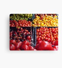 Colorful Fruit, Union Square Farmers Market, New York City Canvas Print