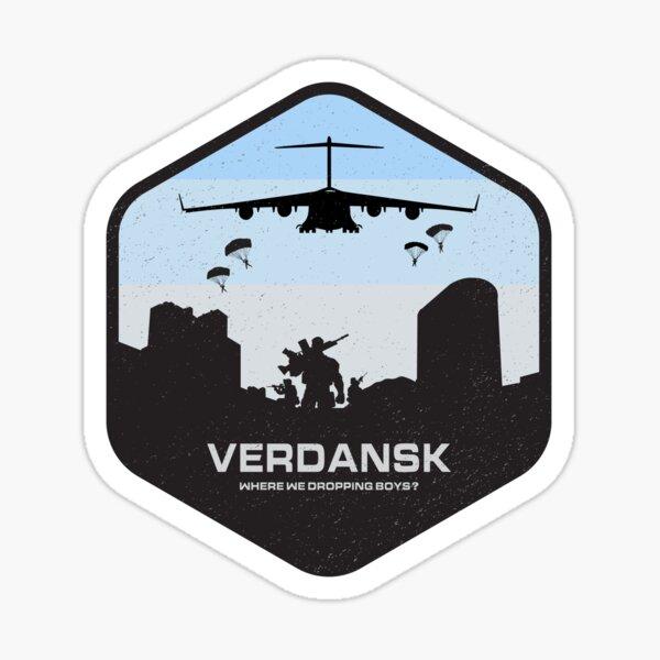 Verdansk Warzone Battle Royale Pegatina