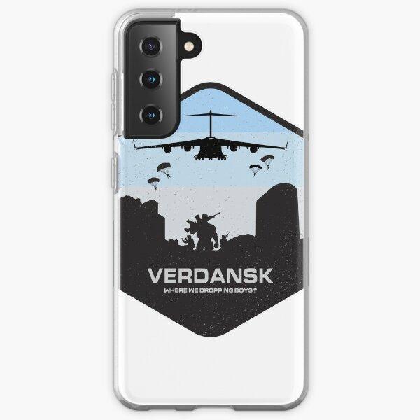 Verdansk Warzone Battle Royale Samsung Galaxy Soft Case