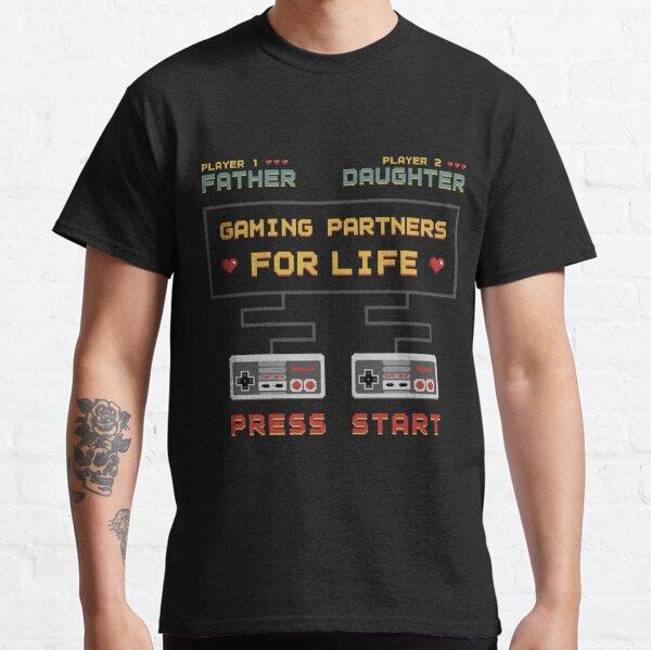 Brother Dead Pixels Gamer T-Shirt Gift For Dad Uncle ETC