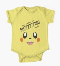 Buzzing Around! (Dedenne Pokemon) One Piece - Short Sleeve