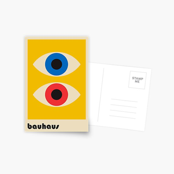 Bauhaus #6 Postcard