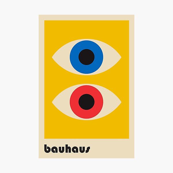 Bauhaus #6 Photographic Print