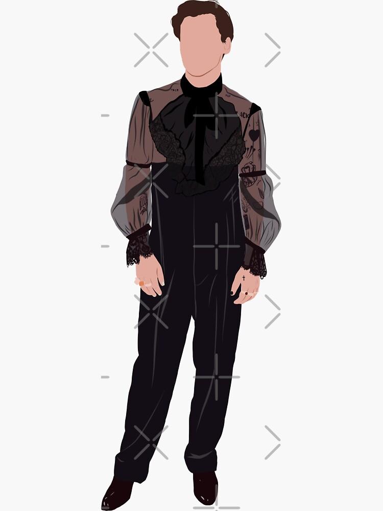 Harry Styles met gala de Alfonchappel