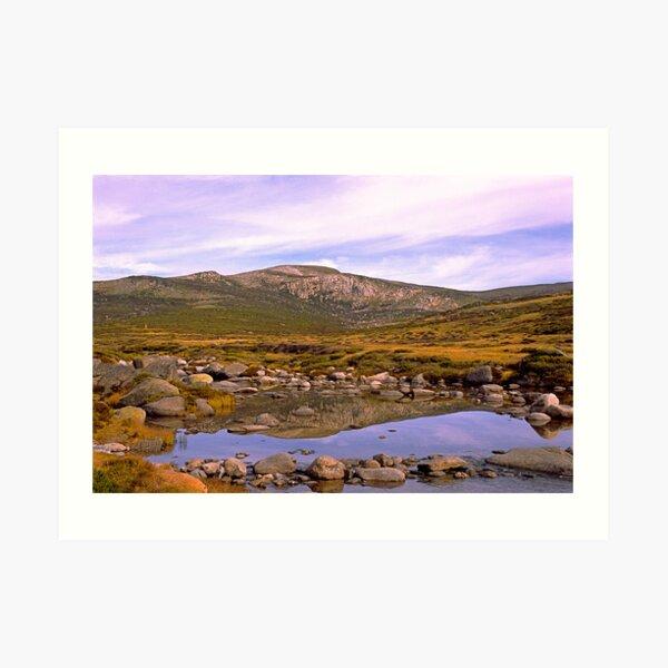 Snowy River, Charlotte Pass, Snowy Mountains, Australia Art Print