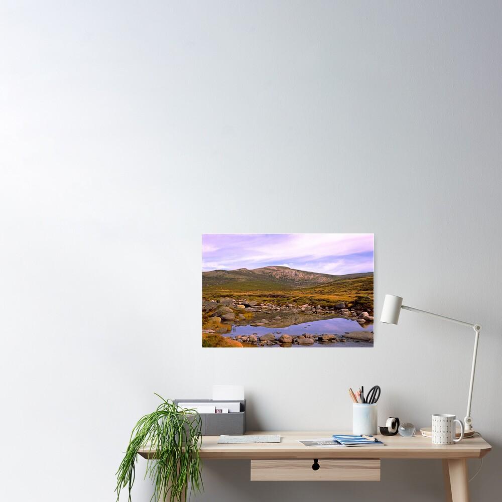 Snowy River, Charlotte Pass, Snowy Mountains, Australia Poster