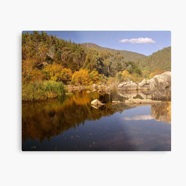 Snowy River, Snowy Mountains, Australia Metal Print