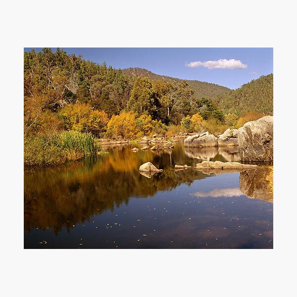 Snowy River, Snowy Mountains, Australia Photographic Print