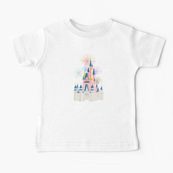 Fairytale Castle Black Baby T-Shirt
