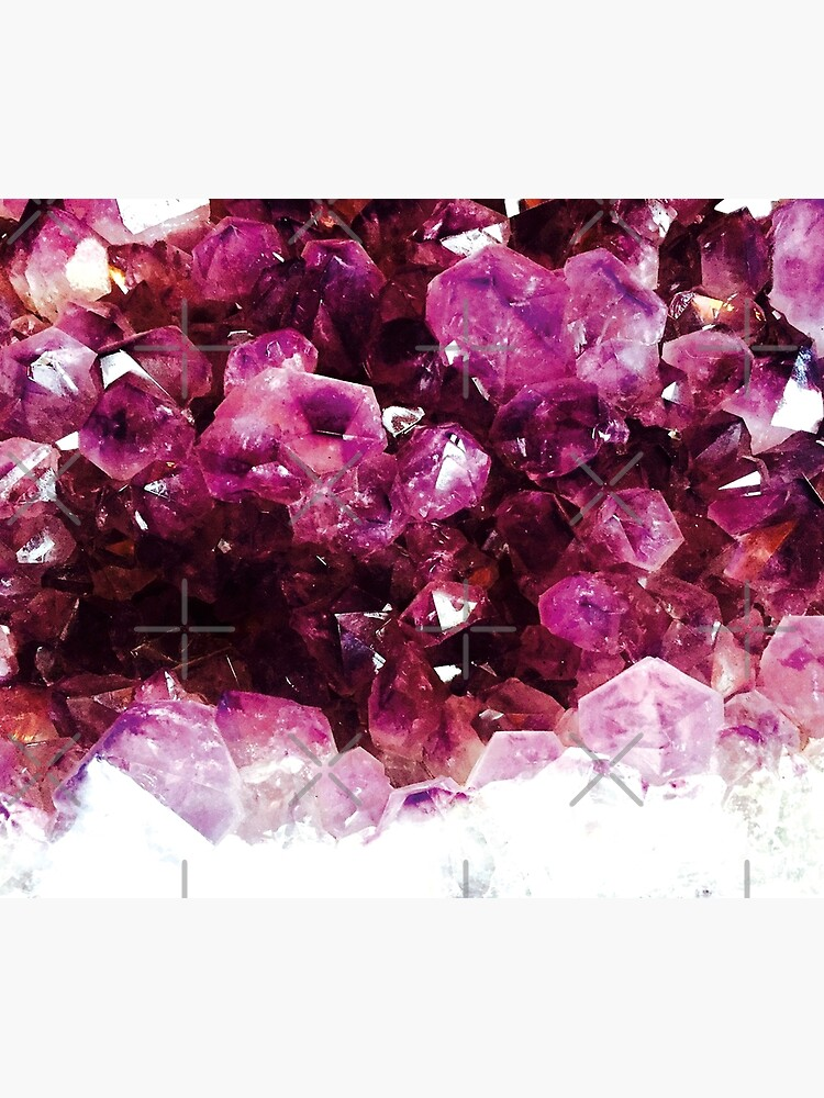 Purple crystal by ColorsHappiness