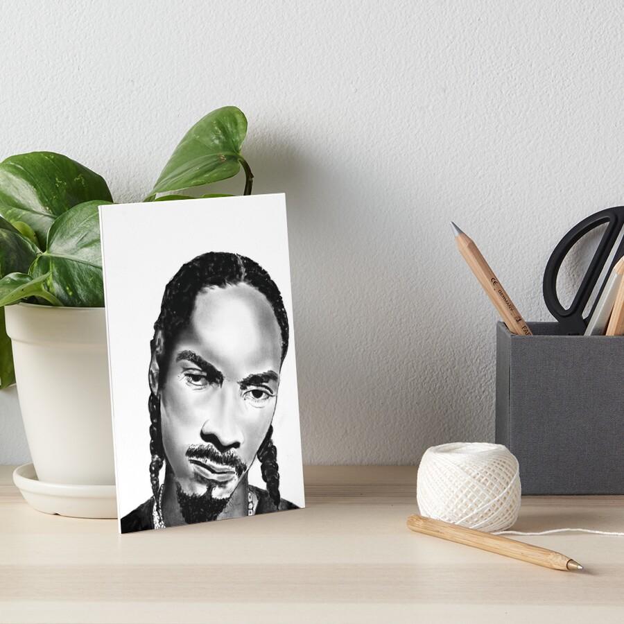 Uncle Snoop Art Board Print