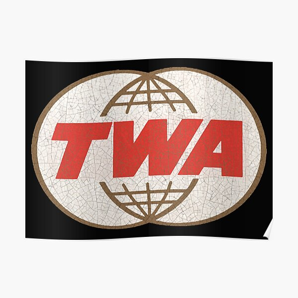 TWA Trans World Airlines USA Poster
