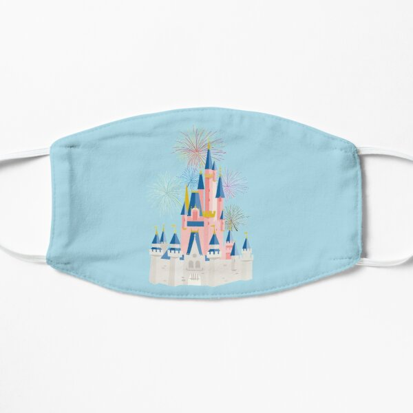 Fairytale Castle Flat Mask