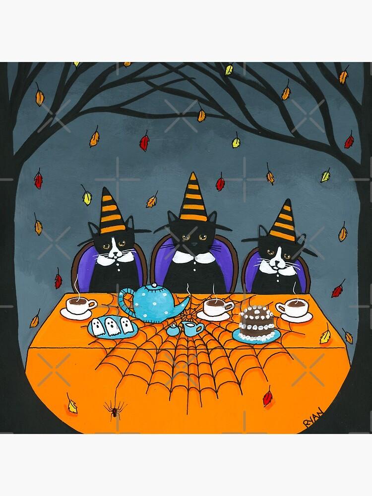 The Halloween Tea Party by kilkennycat