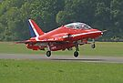 Red Arrow Take Off - Dunsfold 2013 by Colin  Williams Photography