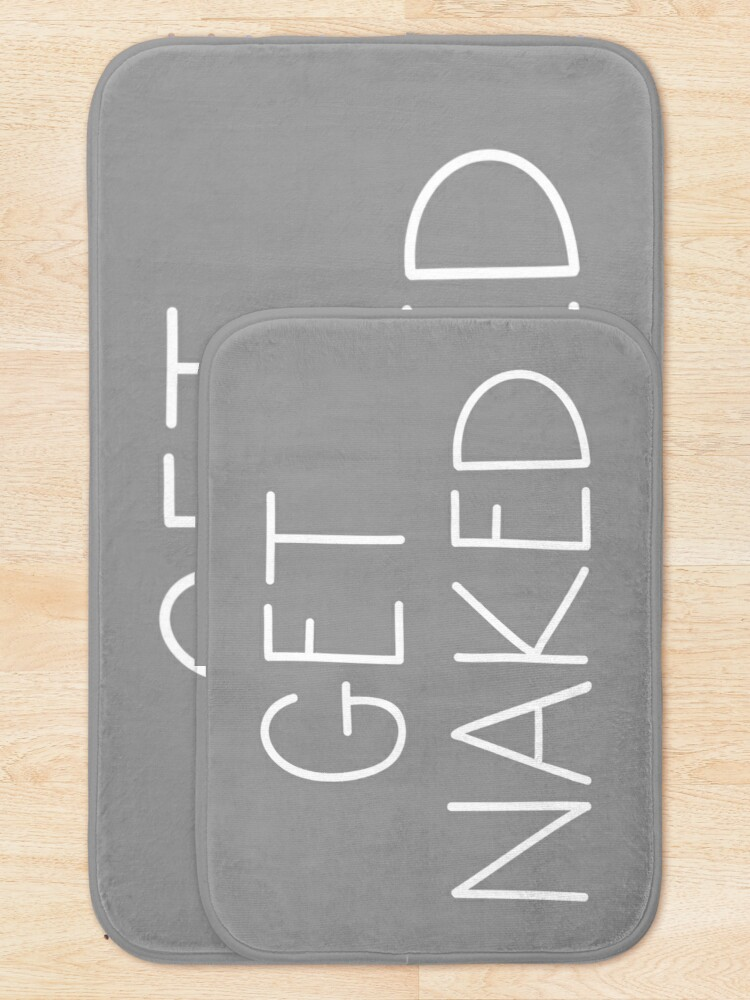 Alternate view of Get Naked Grey Bath Mat