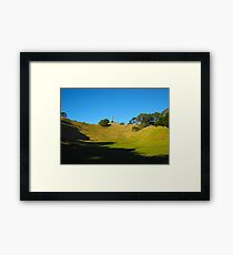 One tree hill, Auckland Framed Print