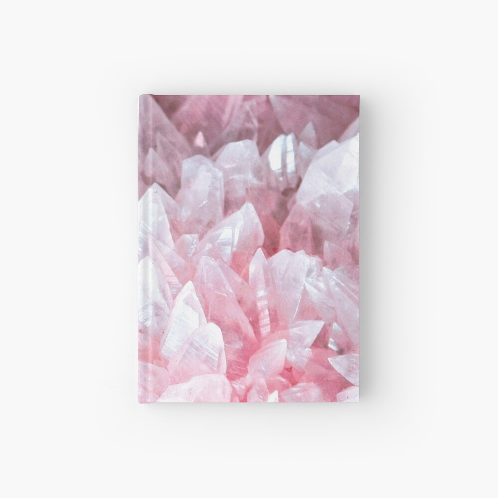 Pink crystal Hardcover Journal