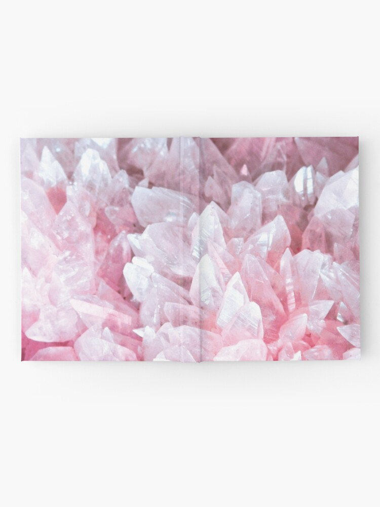 Alternate view of Pink crystal Hardcover Journal