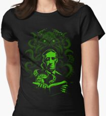 Love Cthulhu Women's Fitted T-Shirt