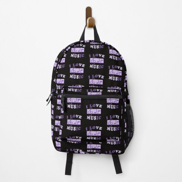 I Love Music Backpack