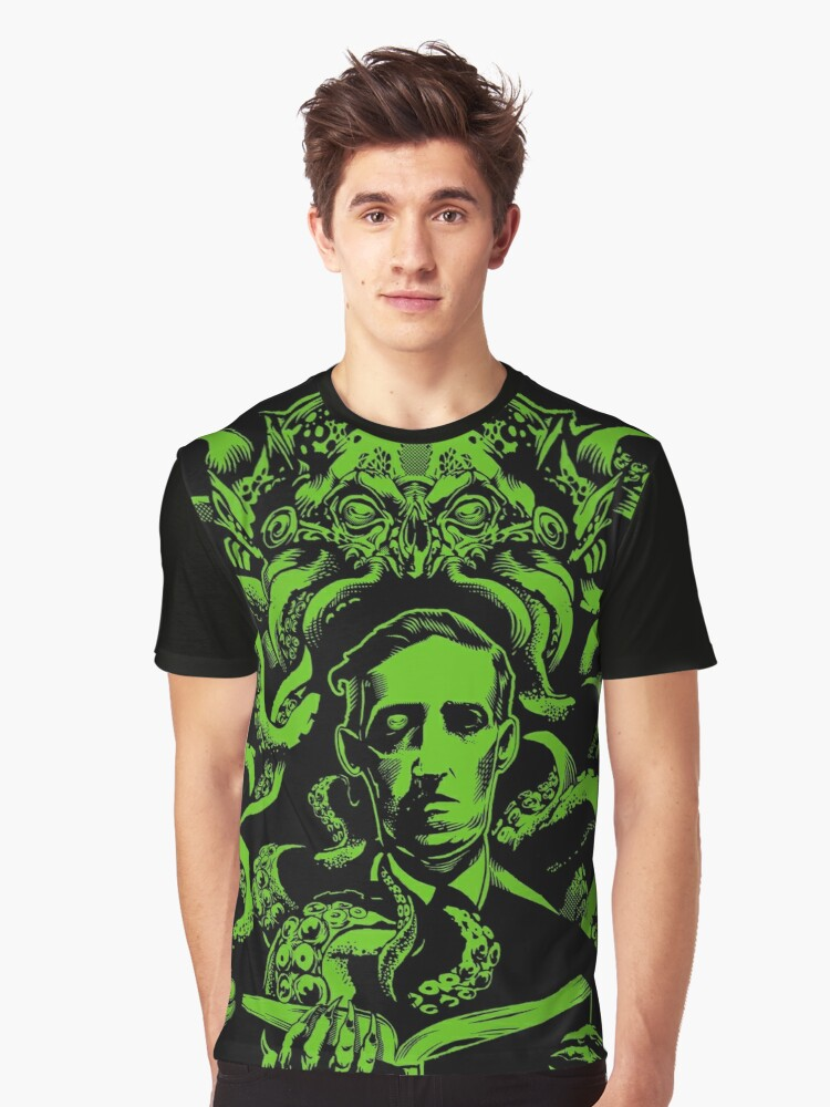 Love Cthulhu Graphic T-Shirt Front